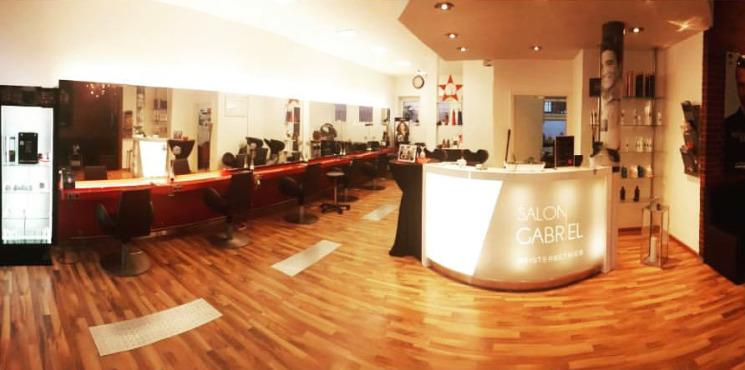 Panoramabild vom Salon Gabriel